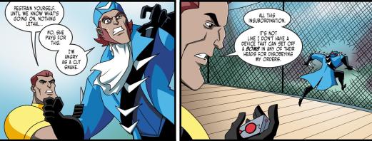 Batman & Harley Quinn #7-Aussie Action Time!