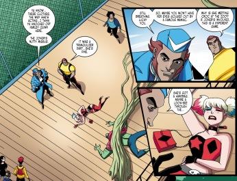 Batman & Harley Quinn #7-Well Done, Team!