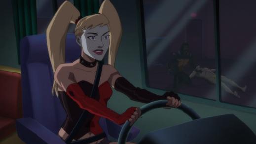 Harley Quinn-Drive-Thru Service!