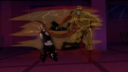 Reverse-Flash-Get Off My Teammate!
