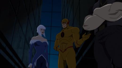 Reverse-Flash-Let's Begin, Ms. Frost!