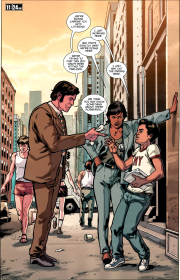 Die Hard-Year One #5-Questions On The Streets!