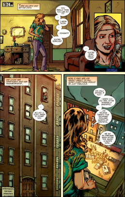 Die Hard-Year One #6-Terri's Call For Help Is Answered!