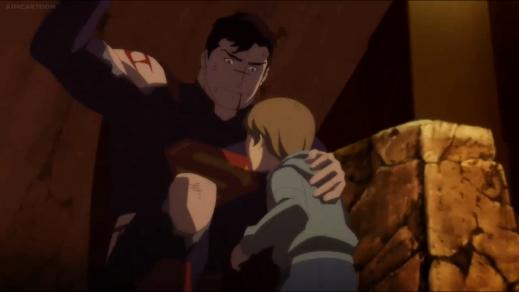 Superman-You're Safe, Lad!