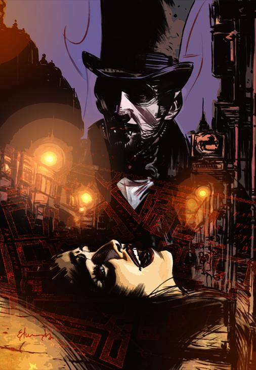 Dracula's Revenge #1 Cover!