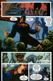 Strange Cargo-A Tiny Hurdle For A Man Of Steel!