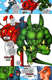 Alpha Flight #17-Mingling With Different Teammates!