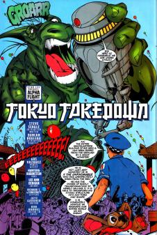 Alpha Flight #17-Terror To The Power Of 'X'!