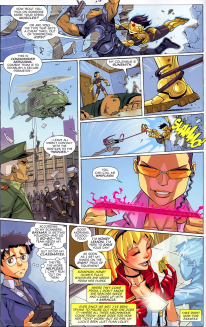 Big Hero 6 #1-A Clash With The Cavalry!