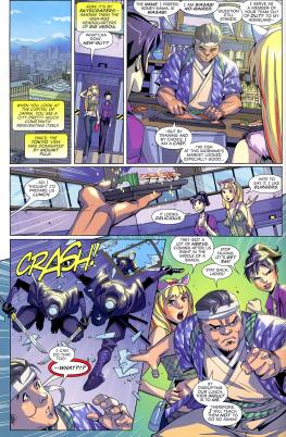 Big Hero 6 #1-New Character, New Cook, New Danger!
