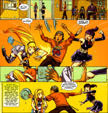 Big Hero 6 #2-A Tease Too Far!