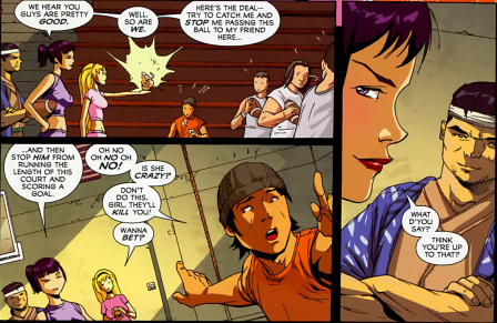 Big Hero 6 #2-We Have A Challenge For You Americans!