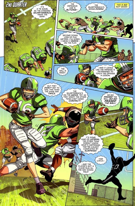 Big Hero 6 #3-Playmaking Heroes!