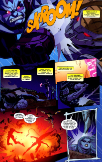 Big Hero 6 #4-A Rebounding Light Out Of The Dark!