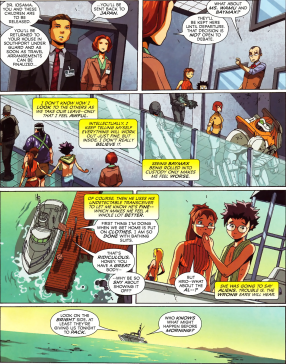 Big Hero 6 #5-Not Everyone Is Allowed To Leave!