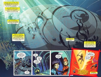 Big Hero 6 #5-Things From Another World Have A Devious Surpirse!