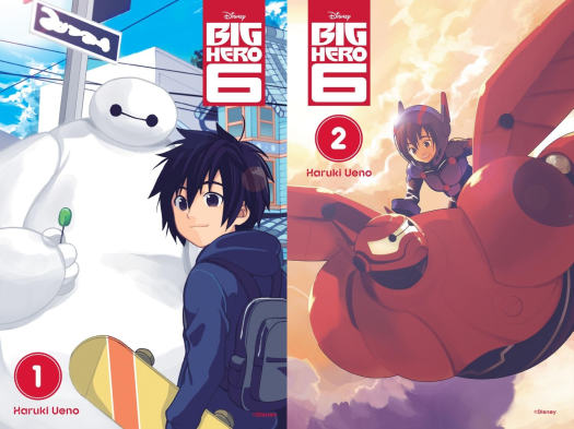 Big Hero 6 Manga-Our Covers!.png