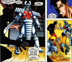 Sunfire & Big Hero Six #1-Surrender Now, Cousin!