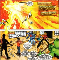 Sunfire & Big Hero Six #1-Tempered Flame!