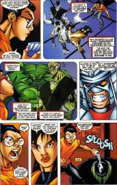 Sunfire & Big Hero Six #2-Arguing To Agree!