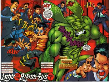 Sunfire & Big Hero Six #2-I Came Prepared!