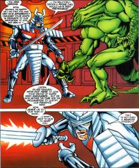Sunfire & Big Hero Six #2-Stand Down To The Samurai!