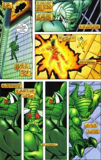 Sunfire & Big Hero Six #3-Crucial Advancement Of The Machine!