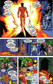 Sunfire & Big Hero Six #3-Free To Say Good-Bye!
