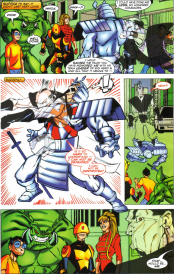 Sunfire & Big Hero Six #3-Surprise Sneak Attack!