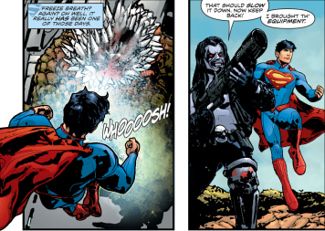 D.O.S. Issue #4-Giving The Cold Shoulder!