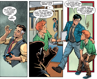 D.O.S. Issue #6-Here's Some Kent For You, Kid!