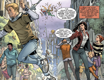 D.O.S. Issue #9-Reporting Humanity's First Enounter!