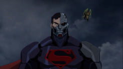 Cyborg Superman-Floating Idly By!