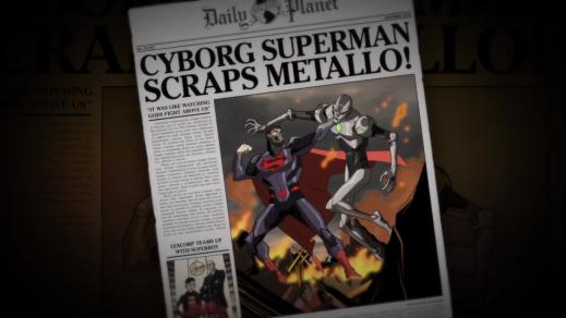 Cyborg Superman-Stopping Supervillains!