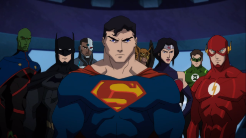 Justice League-Huh!