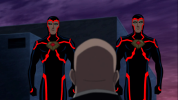 Lex Luthor-Confronted By The Corps!