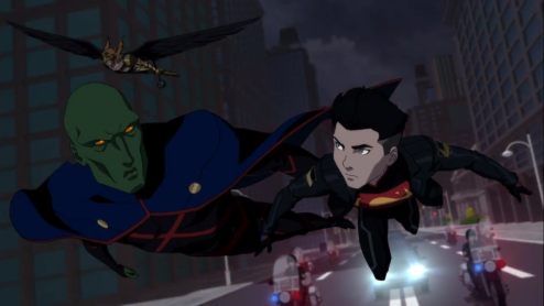 Martian Manhunter-Minor Conflict With Superboy!