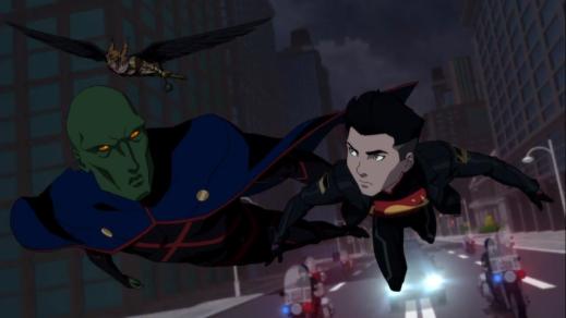 Martian Manhunter-Minor Conflict With Superboy!