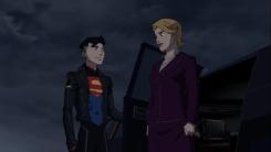 Superboy-Welcome, Madam President!