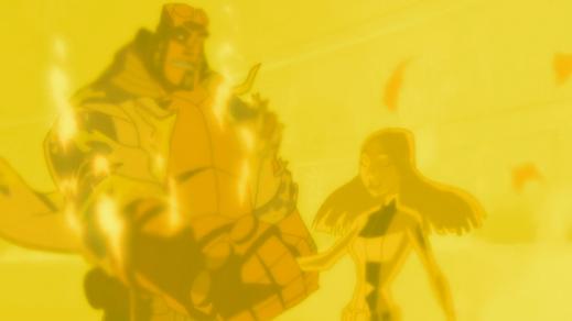Hellboy-Calm Your Blaze, Liz!