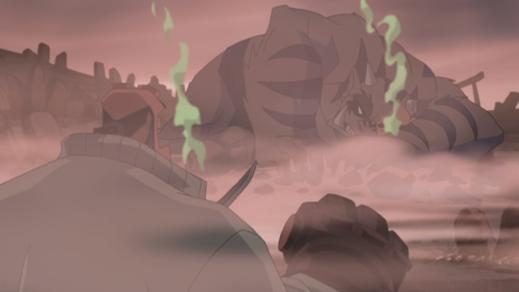 Hellboy-Stay Down, Oni!
