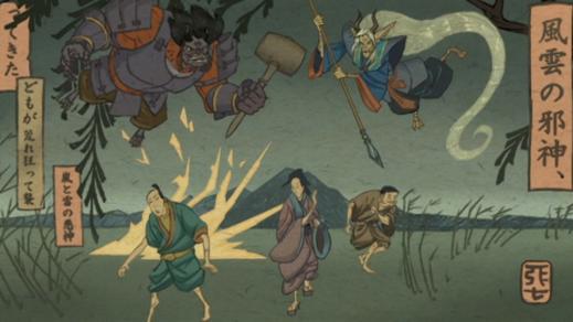 Mitsuyasu Sakai-An Ancient Tale Of Weather Demons!