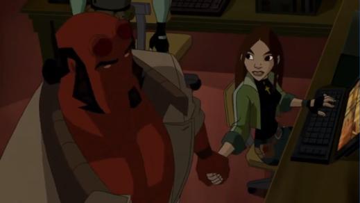 Hellboy-Keep An Eye On Broom, Liz!
