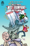 Bill & Ted's Most Triumphant Return #2 Cover!