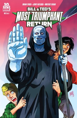Bill & Ted's Most Triumphant Return #5 Cover!