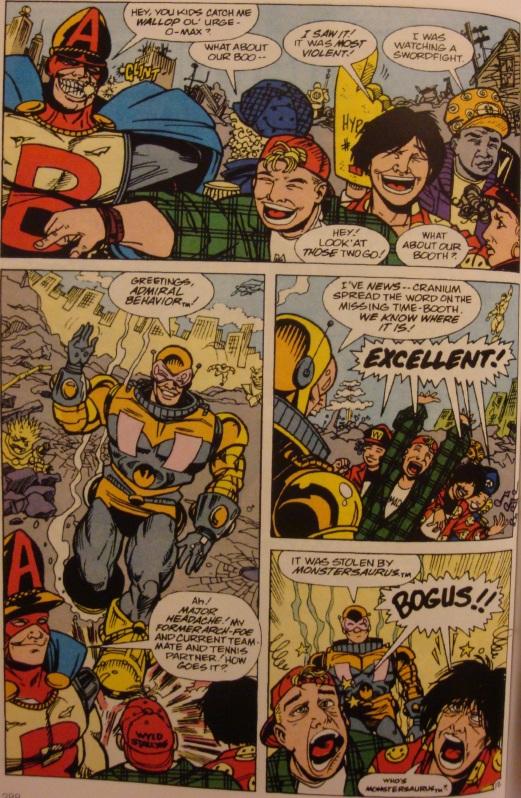 Excellent Comic #10-Meet Major Headache!