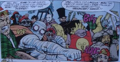 Excellent Comic #12-Inter-Dimensional Incident!