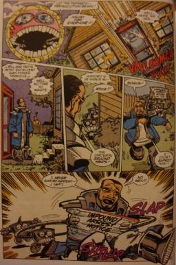 Excellent Comic #6-Rufus Arrested!