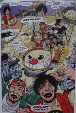 Excellent Comic #7-Coaster-Sized Calvary!