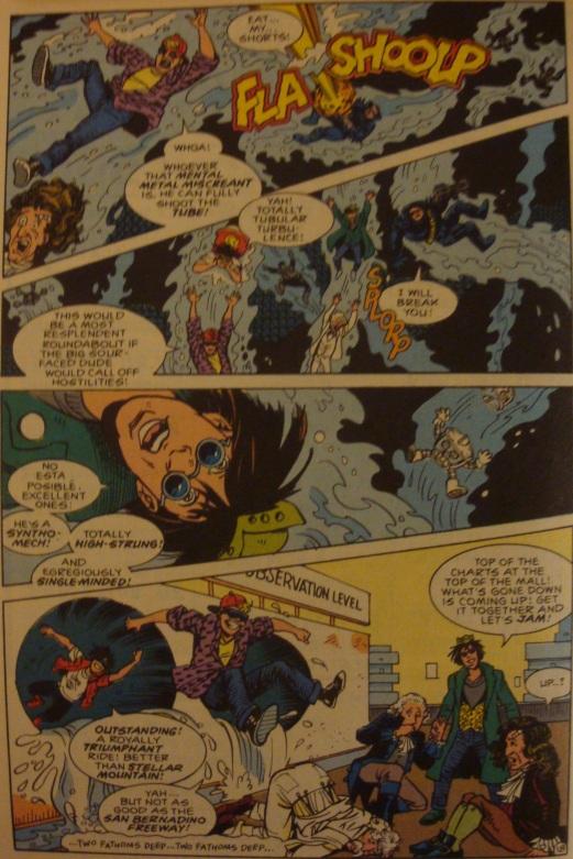 Excellent Comic #8-A Fun Way To Escape!